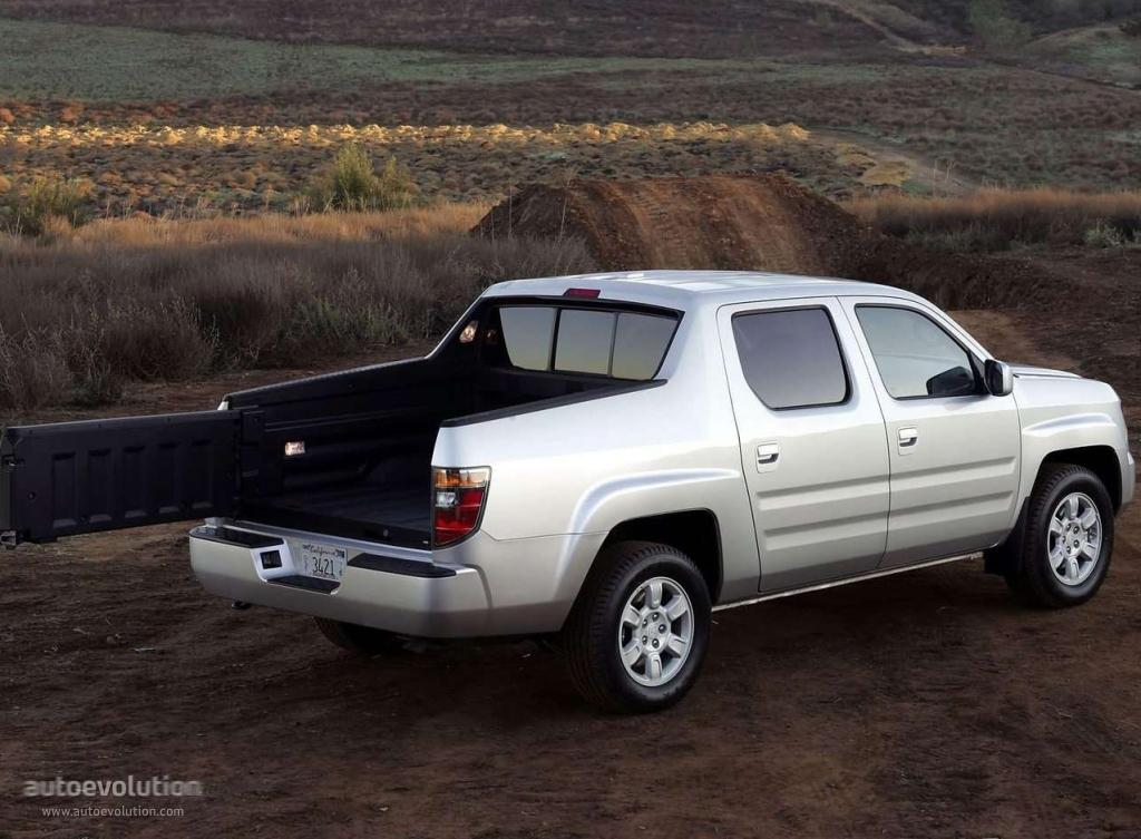 HONDA Ridgeline specs - 2005, 2006, 2007, 2008, 2009 - autoevolution