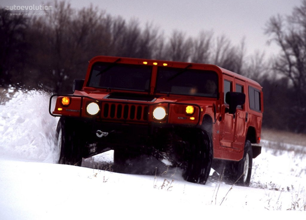 HUMMER H1 4 Door Wagon - 1992, 1993, 1994, 1995, 1996 ...