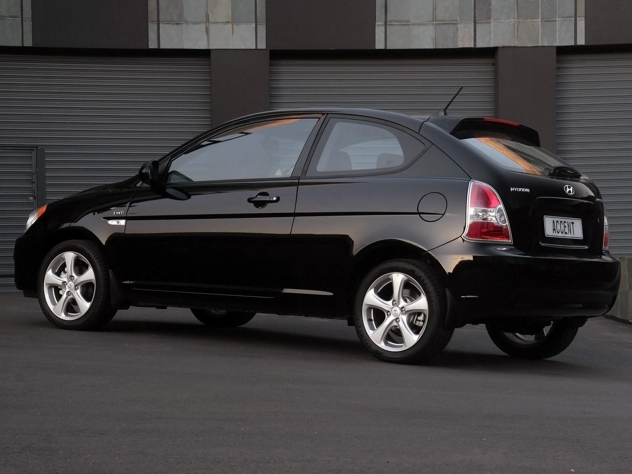 Hyundai Accent 3 Doors Specs 2006 2007 2008 2009