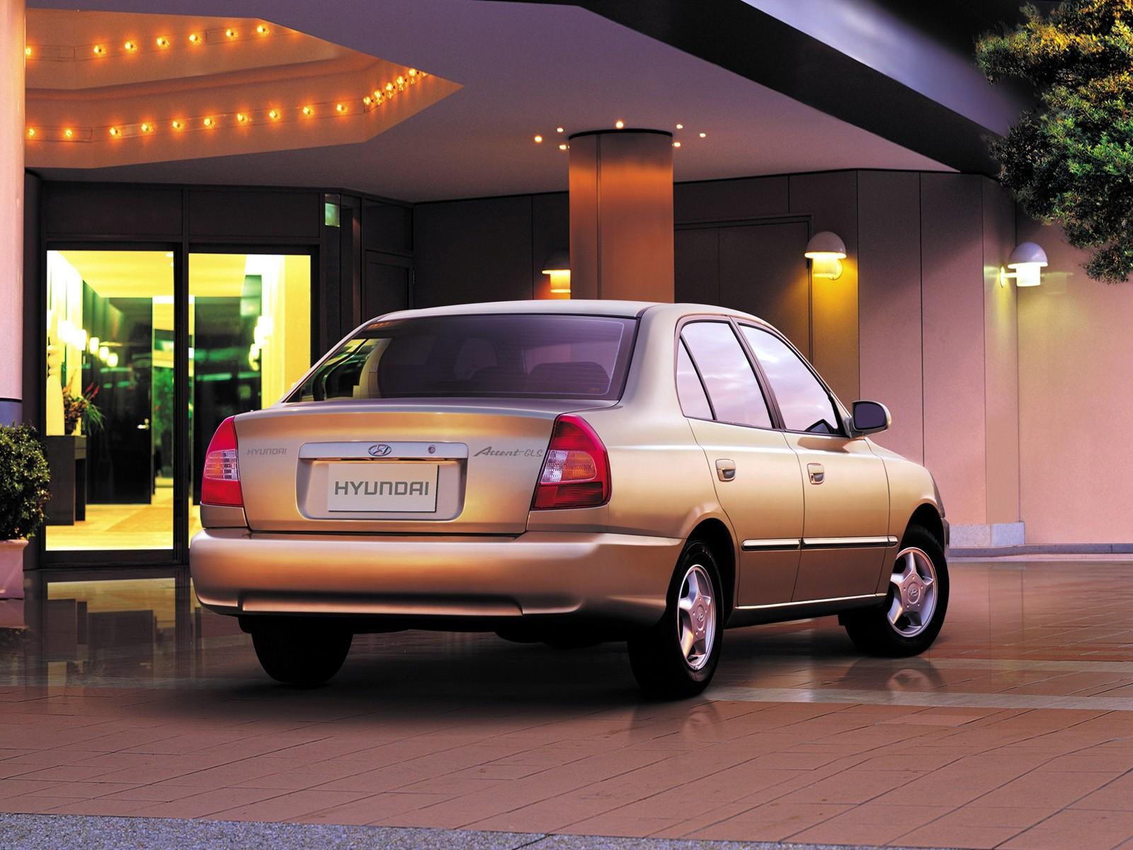 2016 Hyundai Genesis Coupe >> HYUNDAI Accent 4 Doors specs - 1999, 2000, 2001, 2002, 2003 - autoevolution