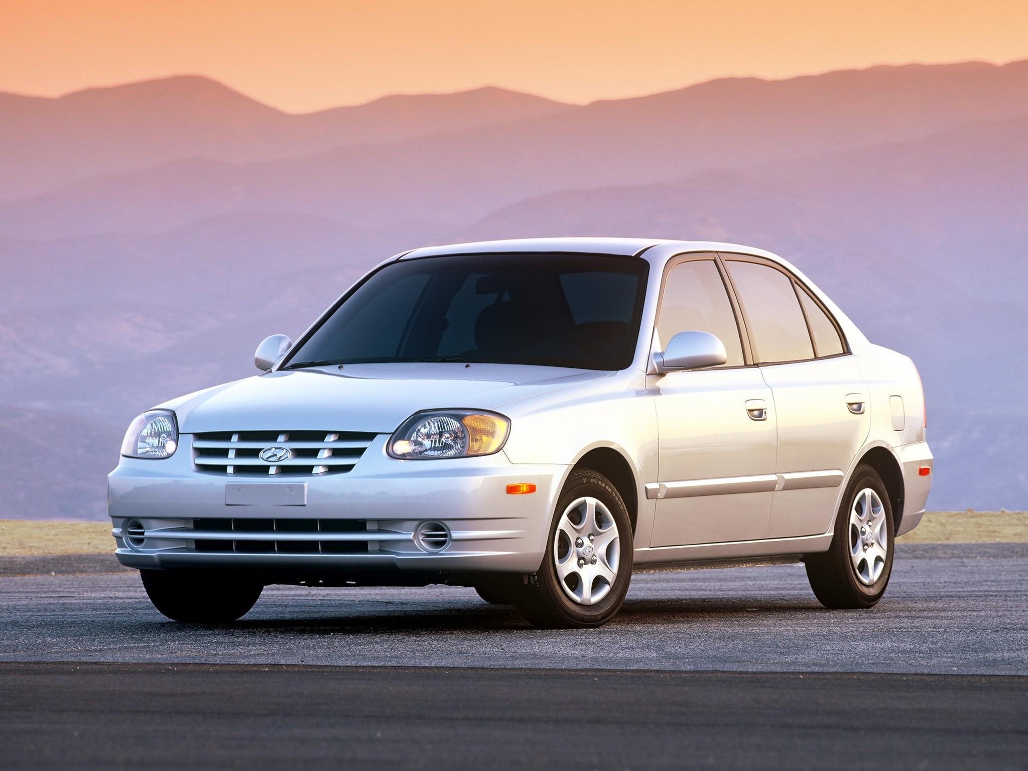 Hyundai Accent Hatchback >> HYUNDAI Accent 4 Doors specs - 2003, 2004, 2005, 2006 ...