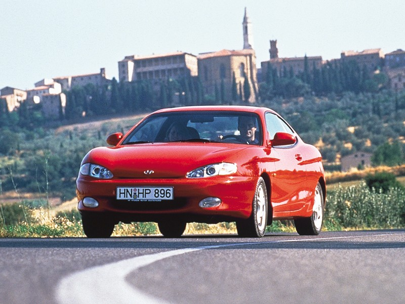 HYUNDAI Coupe / Tiburon specs & photos - 1996, 1997, 1998 ...