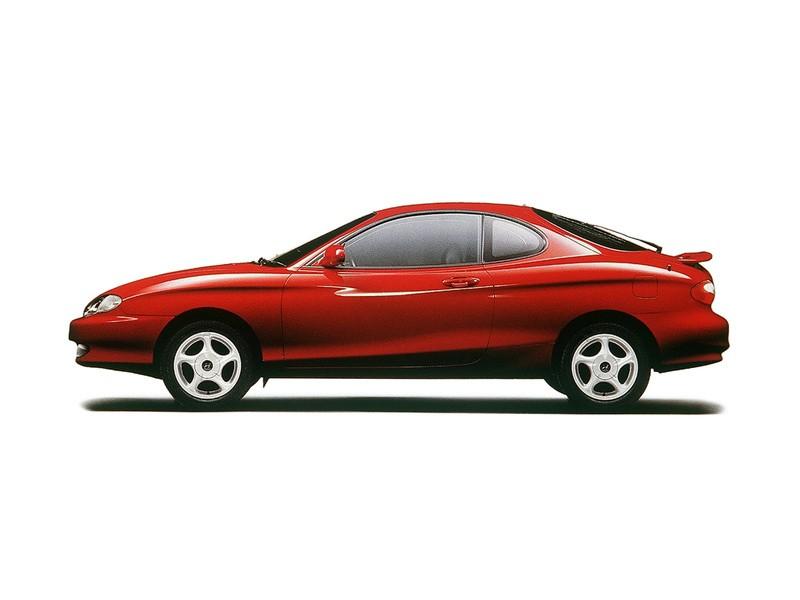 Hyundai Coupe Tiburon on 1996 Hyundai Elantra