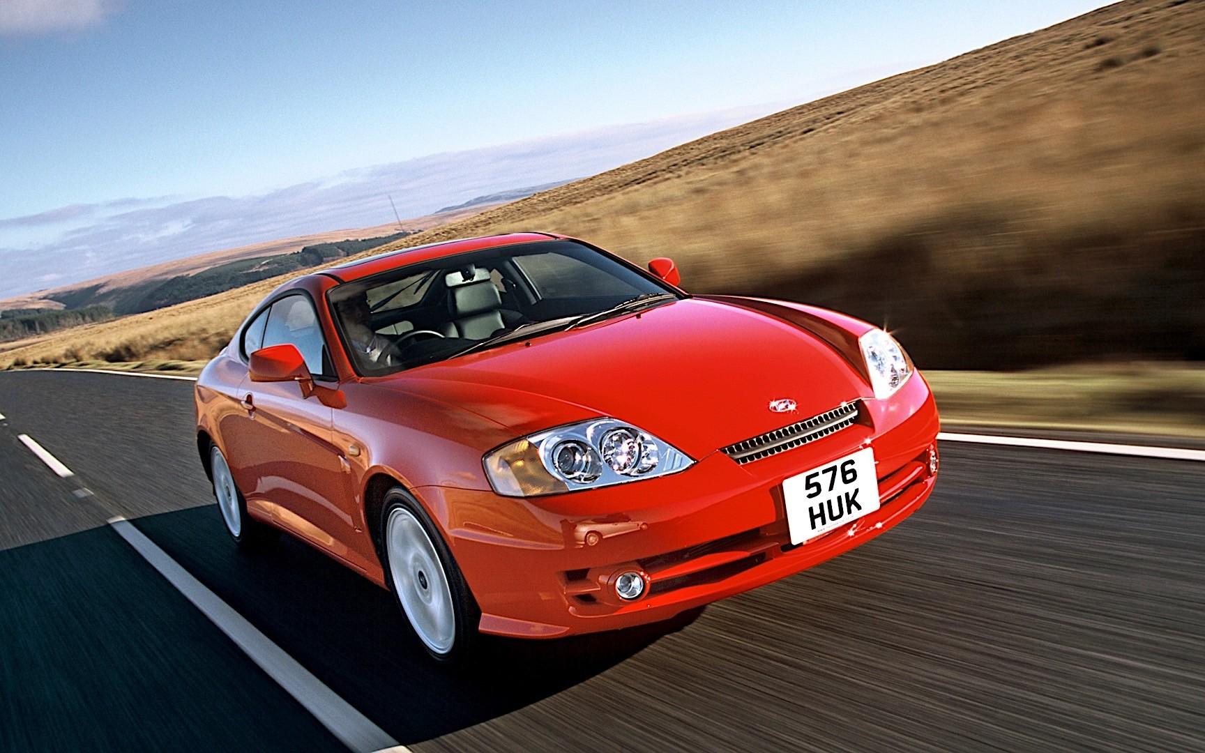 Hyundai Elantra Coupe >> HYUNDAI Coupe / Tiburon specs & photos - 2001, 2002, 2003, 2004 - autoevolution