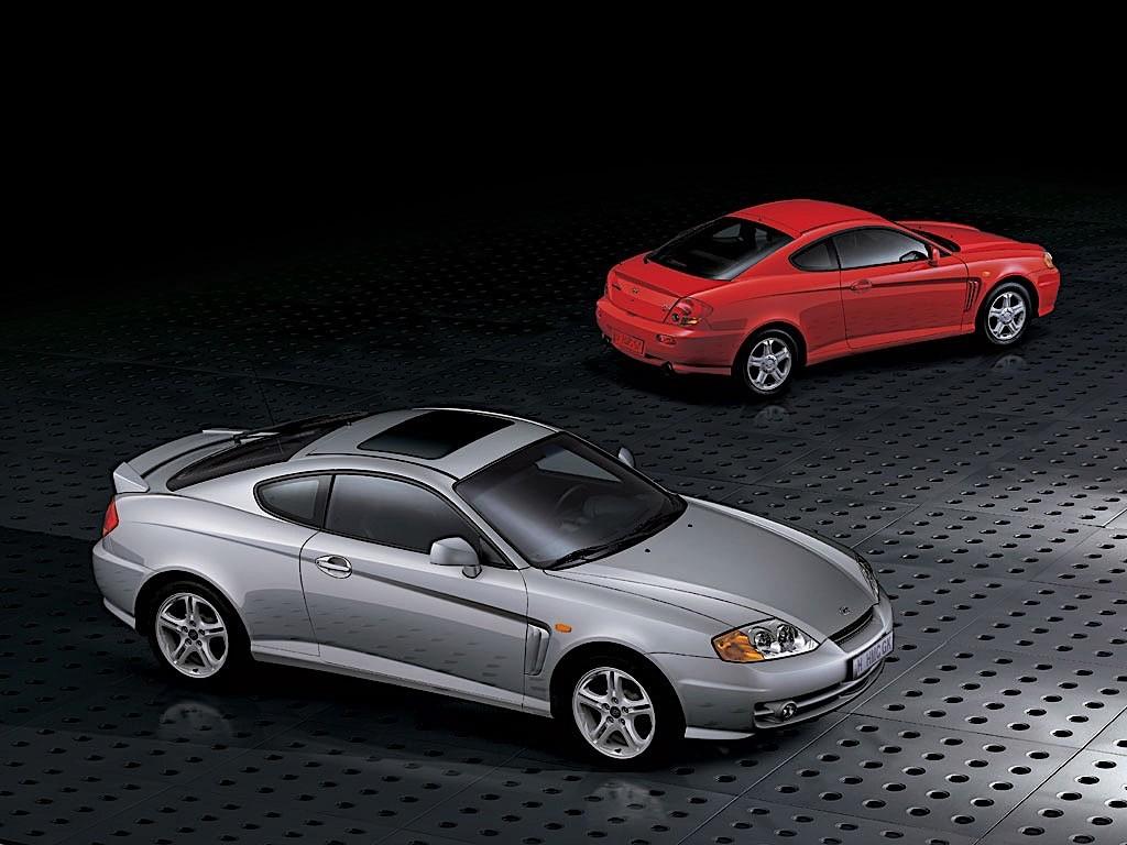 tiburon hyundai coupe 2001 2004 autoevolution 2003 2002 cars