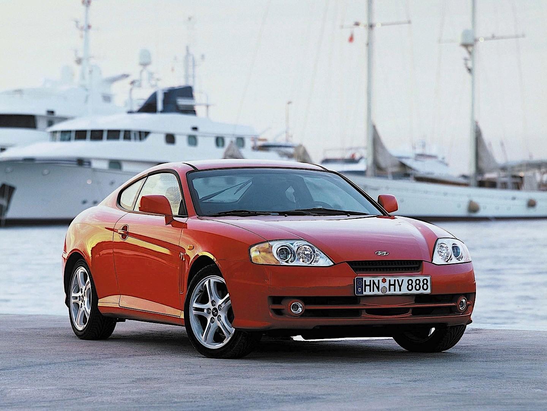 HYUNDAI Coupe / Tiburon specs - 2001, 2002, 2003, 2004 ...
