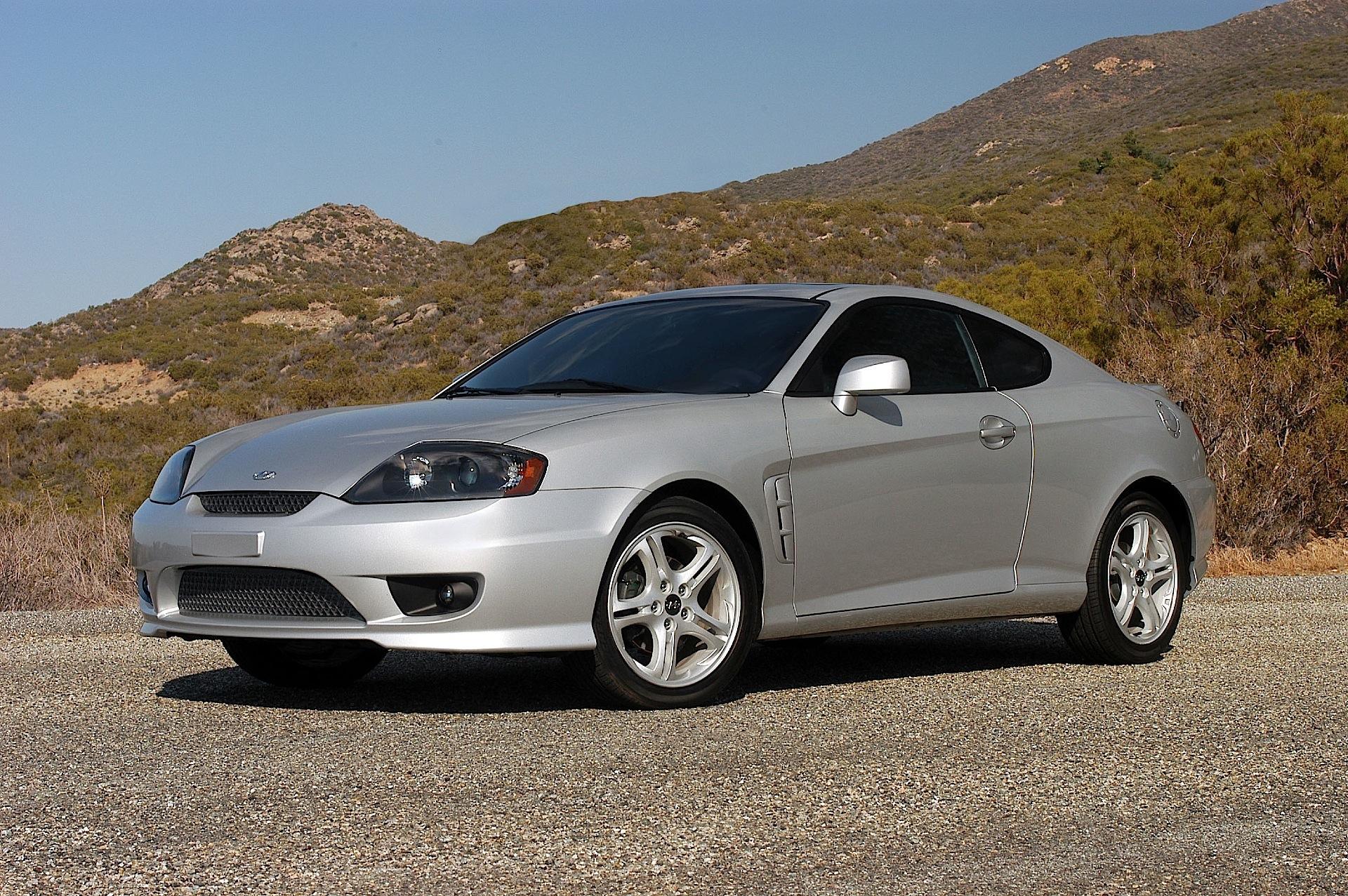 2005 Hyundai Tiburon Gt >> HYUNDAI Coupe / Tiburon - 2004, 2005, 2006, 2007 ...