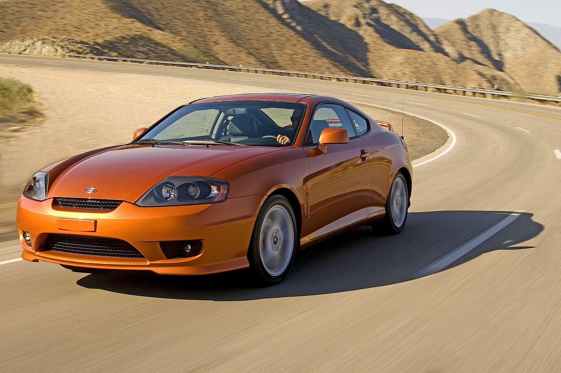 Hyundai Coupe Tiburon 2004 2005 2006 2007
