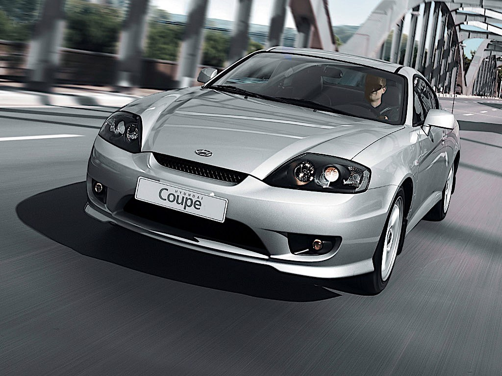2005 Hyundai Tiburon Gt >> HYUNDAI Coupe / Tiburon specs & photos - 2004, 2005, 2006, 2007 - autoevolution