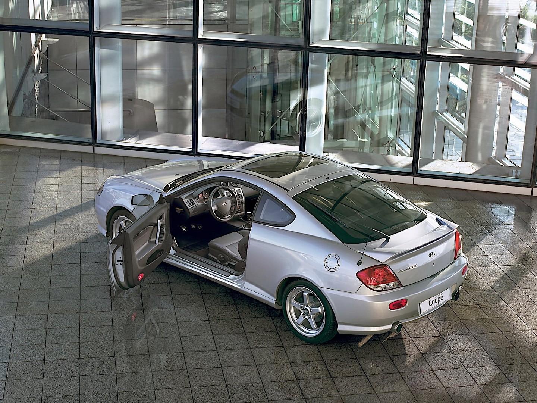 HYUNDAI Coupe / Tiburon specs & photos - 2004, 2005, 2006 ...