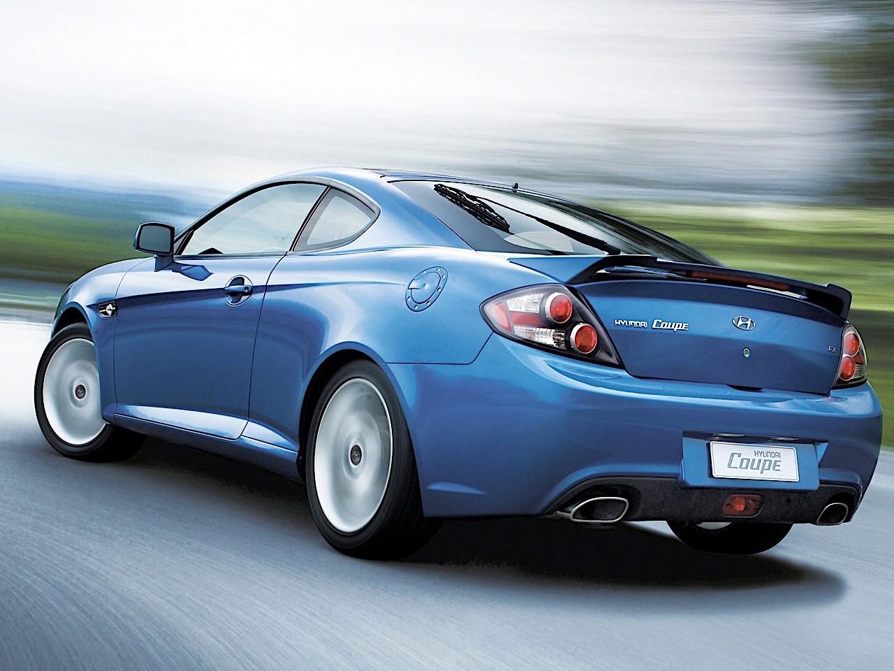 HYUNDAI Coupe / Tiburon specs - 2007, 2008, 2009 ...