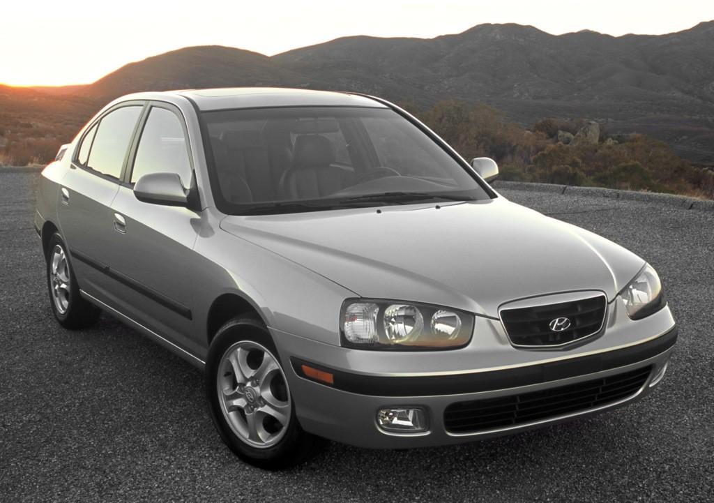 Hyundai Elantra 4 Doors Specs 2000 2001 2002 2003