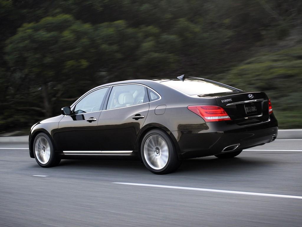 2020 Hyundai Equus Spy Shoot