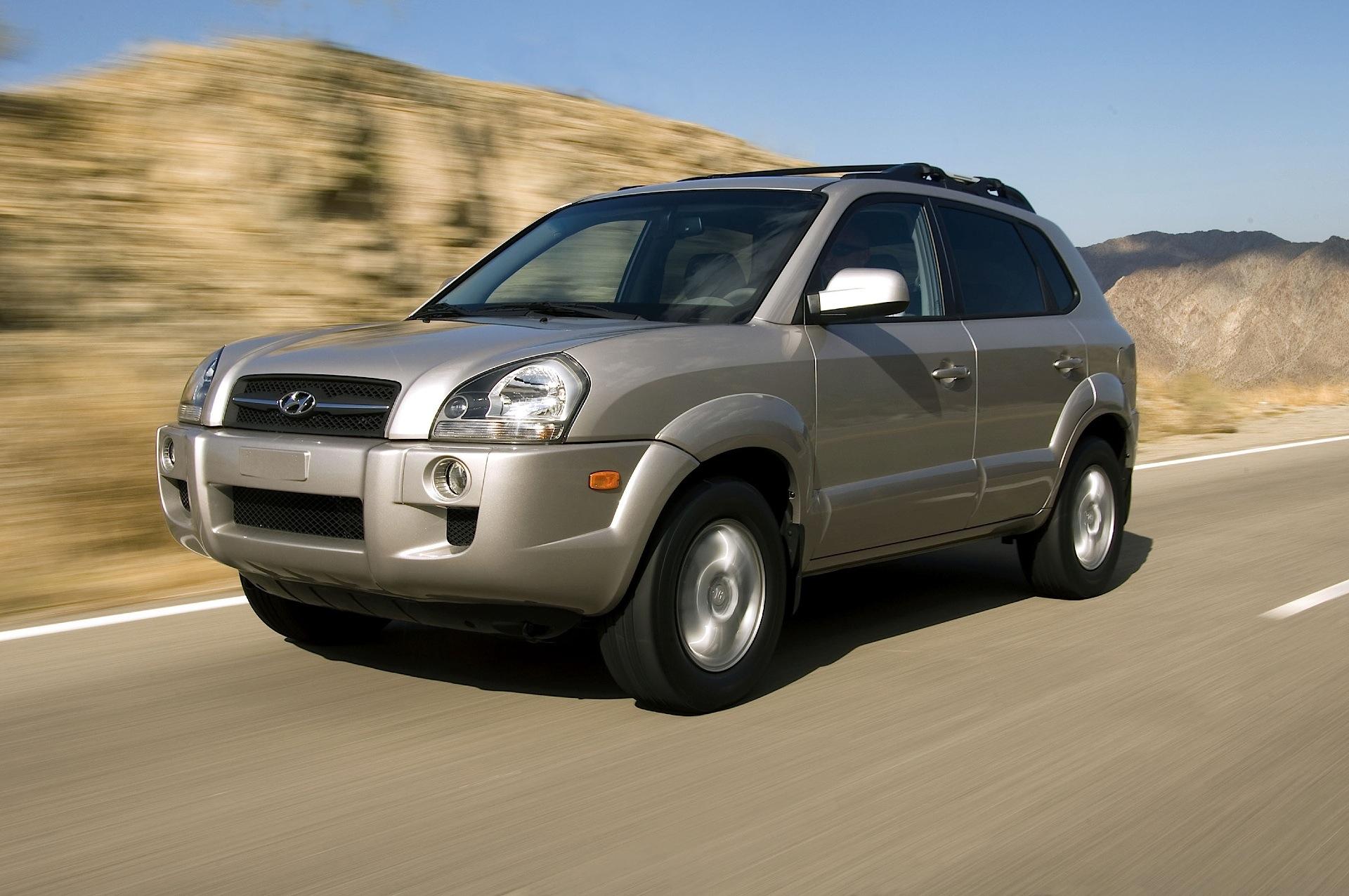 Hyundai Tucson - 2004  2005  2006  2007  2008  2009