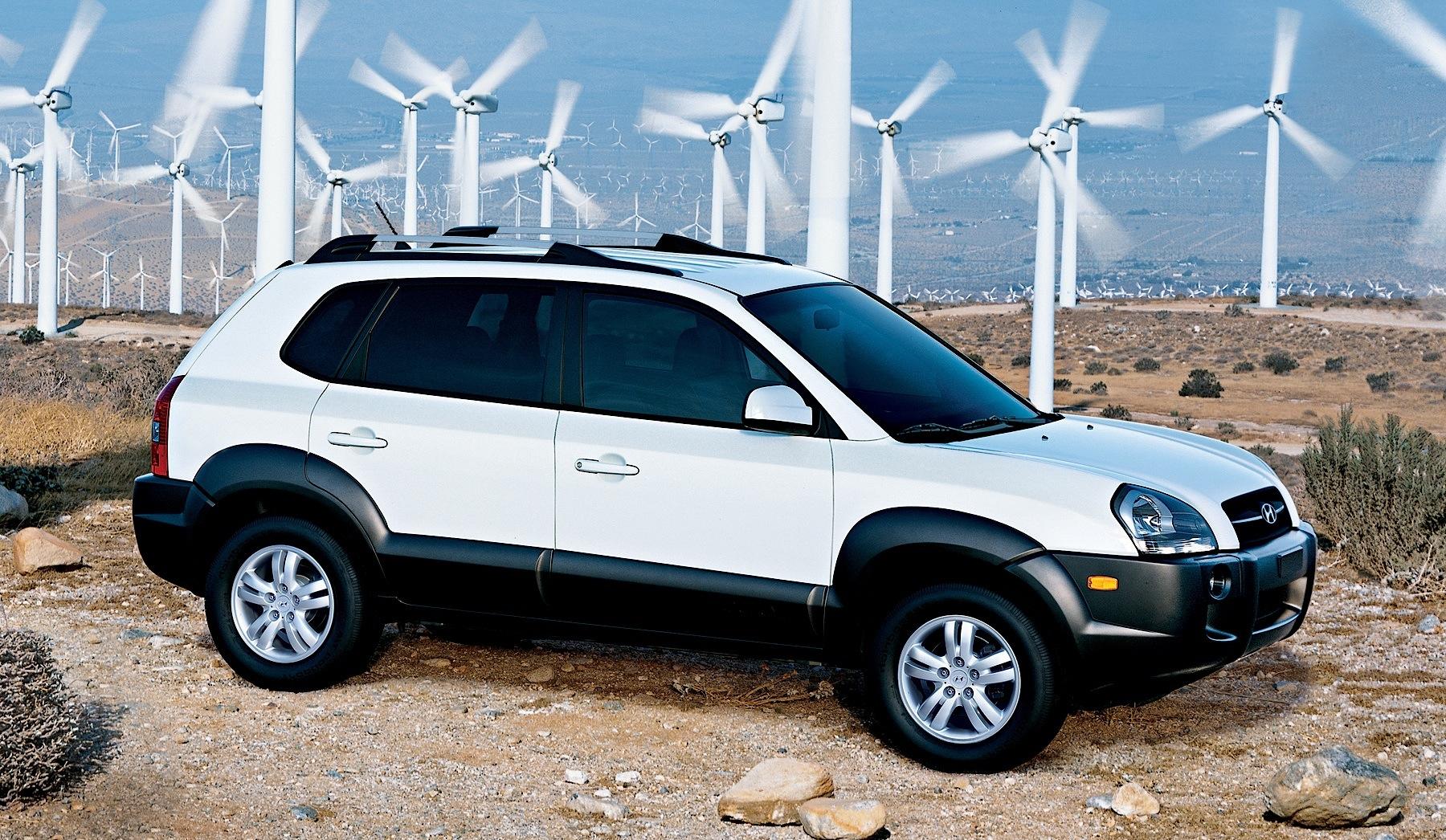 Hyundai Tucson 2004 2005 2006 2007 2008 2009
