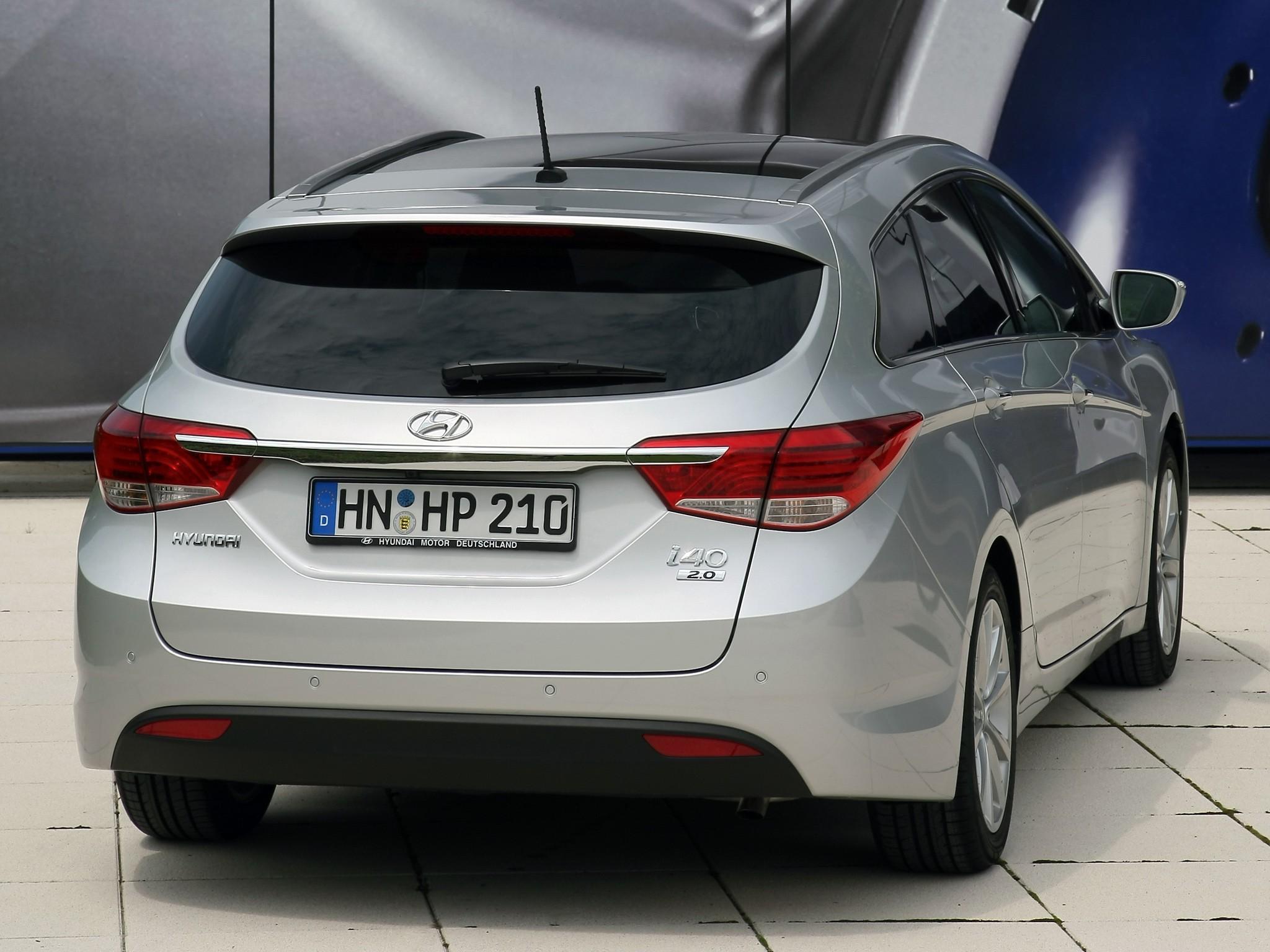 Hyundai I40 Tourer Specs Amp Photos 2012 2013 2014 2015