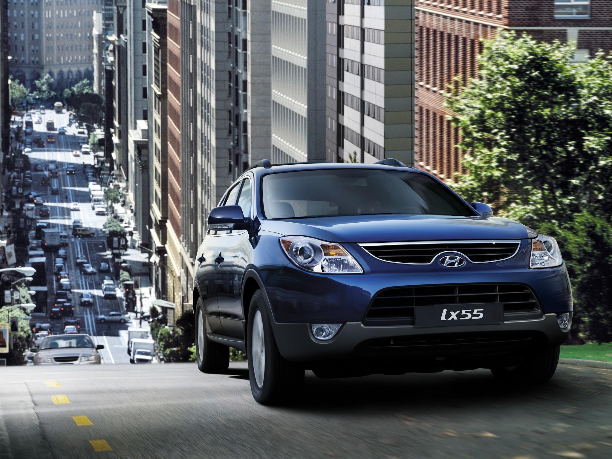 Hyundai Ix55 Veracruz Specs Amp Photos 2009 2010 2011