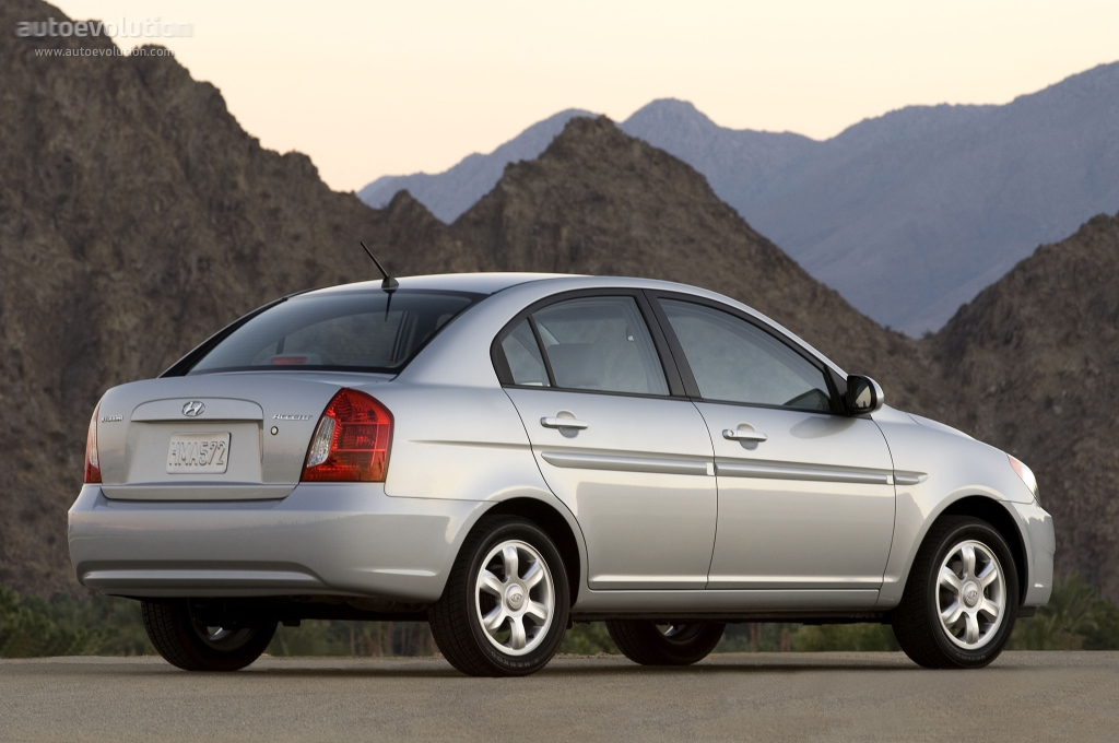 Hyundai Accent 4 Doors Specs 2006 2007 2008 2009