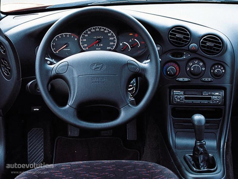 Hyundai Coupe Tiburon 1996 1997 1998 1999
