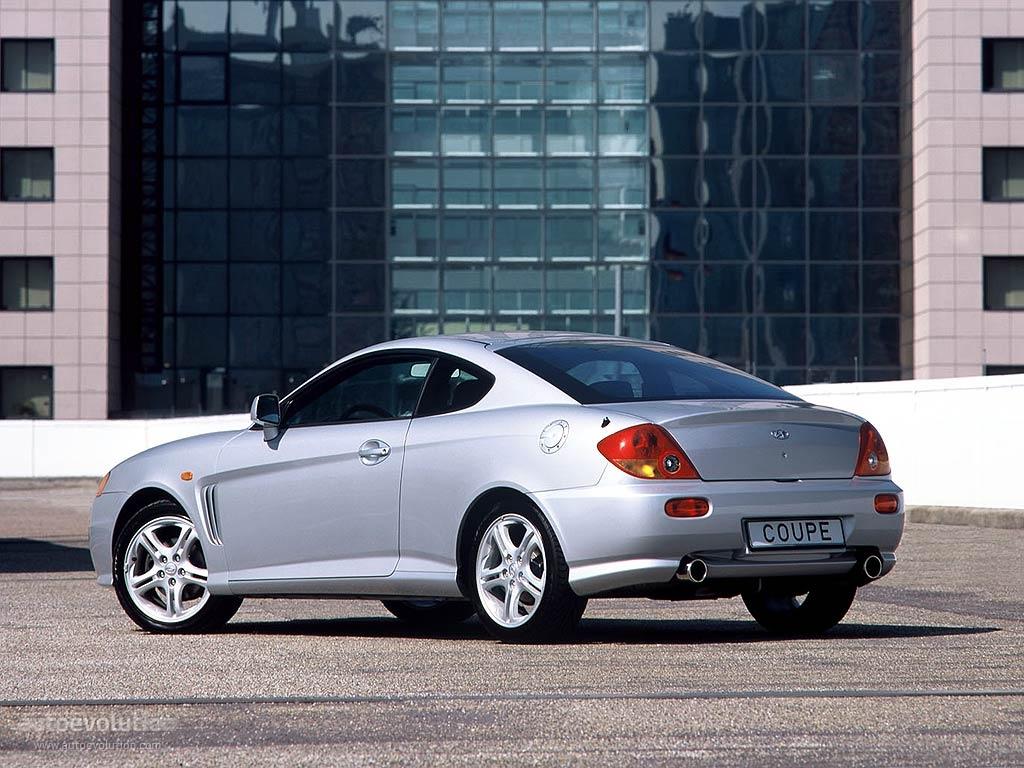 Hyundai Coupe Tiburon 2001 2002 2003 2004