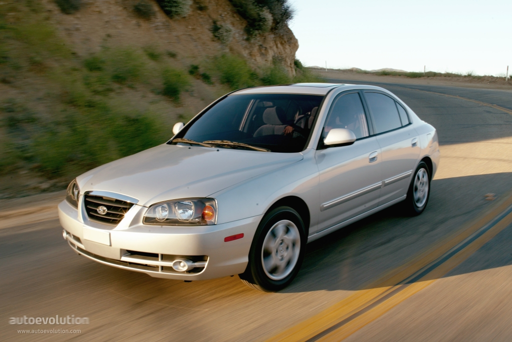 Hyundai Elantra 4 Doors Specs 2003 2004 2005 2006