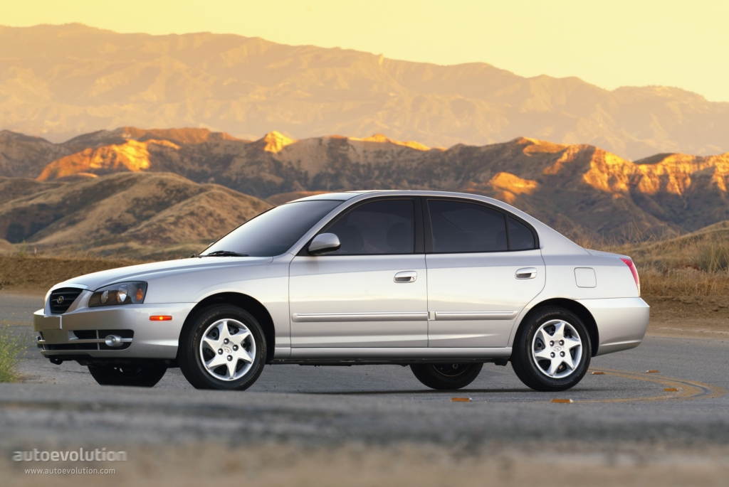 Hyundai Elantra 4 Doors 2003 2004 2005 2006