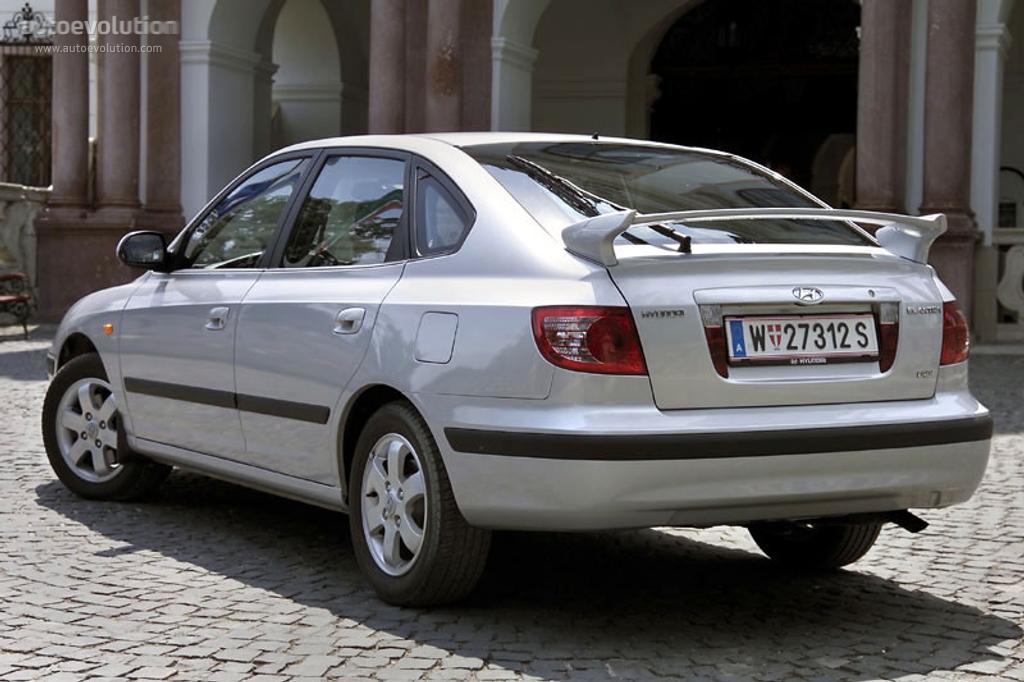 Hyundai Elantra 5 Doors 2003 2004 2005 2006