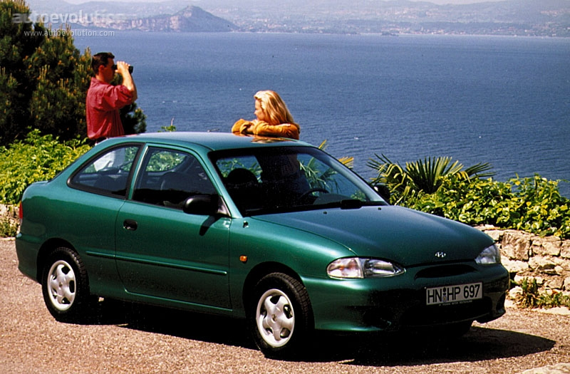 Hyundai Accent 2000 Model >> HYUNDAI Excel 3 Doors - 1998, 1999, 2000 - autoevolution