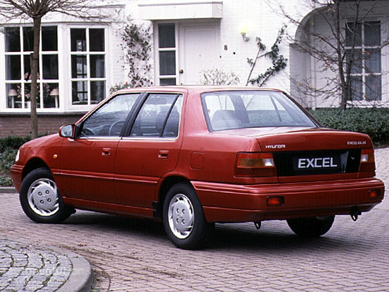 hyundai excel 4 doors specs 1989 1990 1991 1992 1993 1994 rh autoevolution com manual de taller hyundai excel 1994 manual mecanico hyundai excel 1994