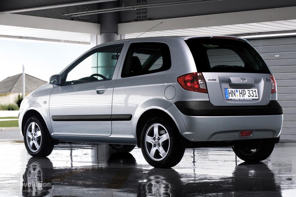 Hyundai Getz 3 Doors 2005 2006 2007 2008 2009 2010