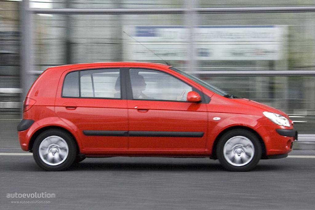 Hyundai Getz 5 Doors 2005 2006 2007 2008 2009 2010