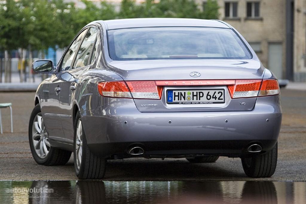 Hyundai Grandeur Specs 2005 2006 2007 2008 2009