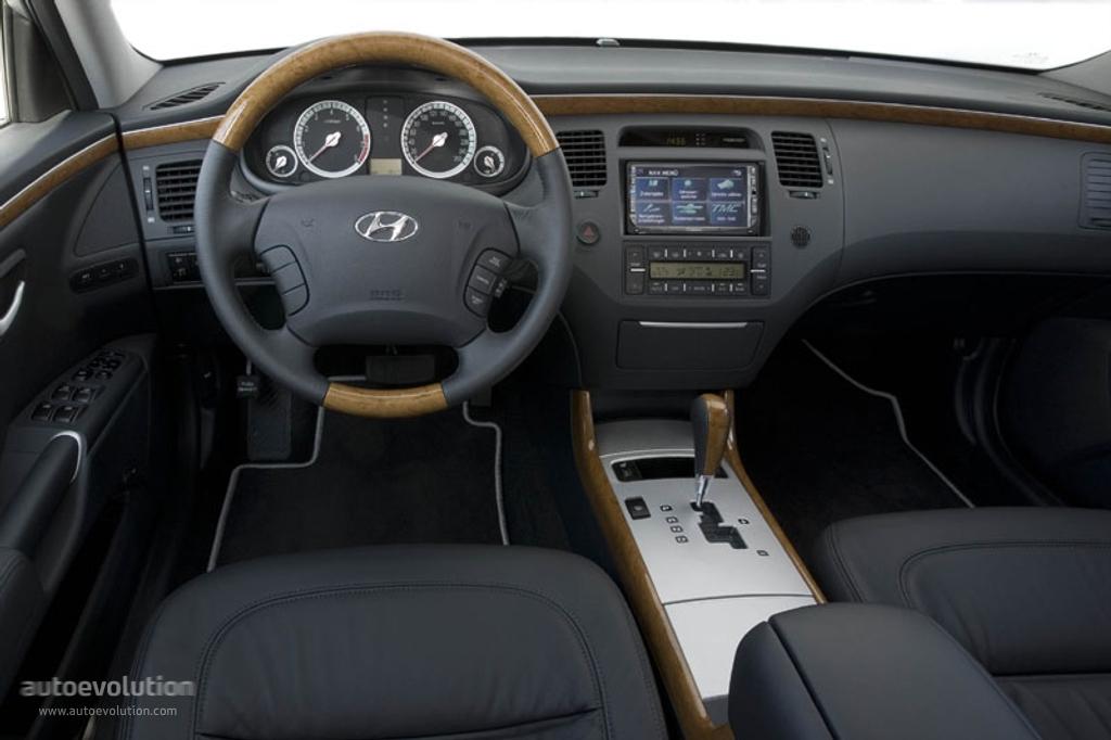 Hyundai Grandeur 2005 2006 2007 2008 2009 2010 2011 Autoevolution