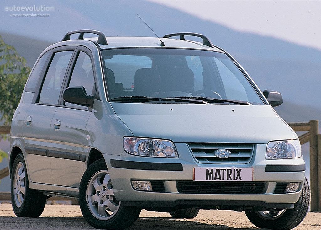 Hyundai Matrix 2001 2002 2003 2004 2005 2006 2007