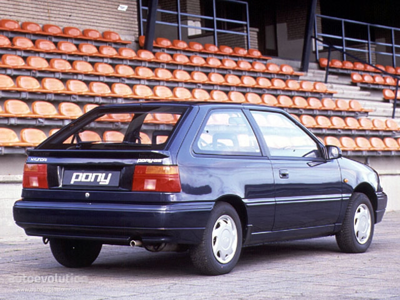 Hyundaipony Doors on 1992 Hyundai Excel