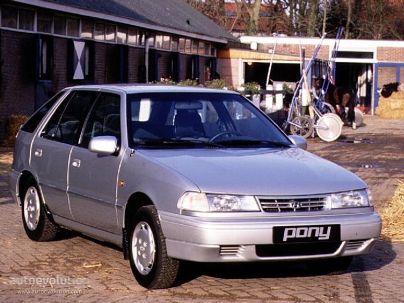 hyundai pony 1993 фото