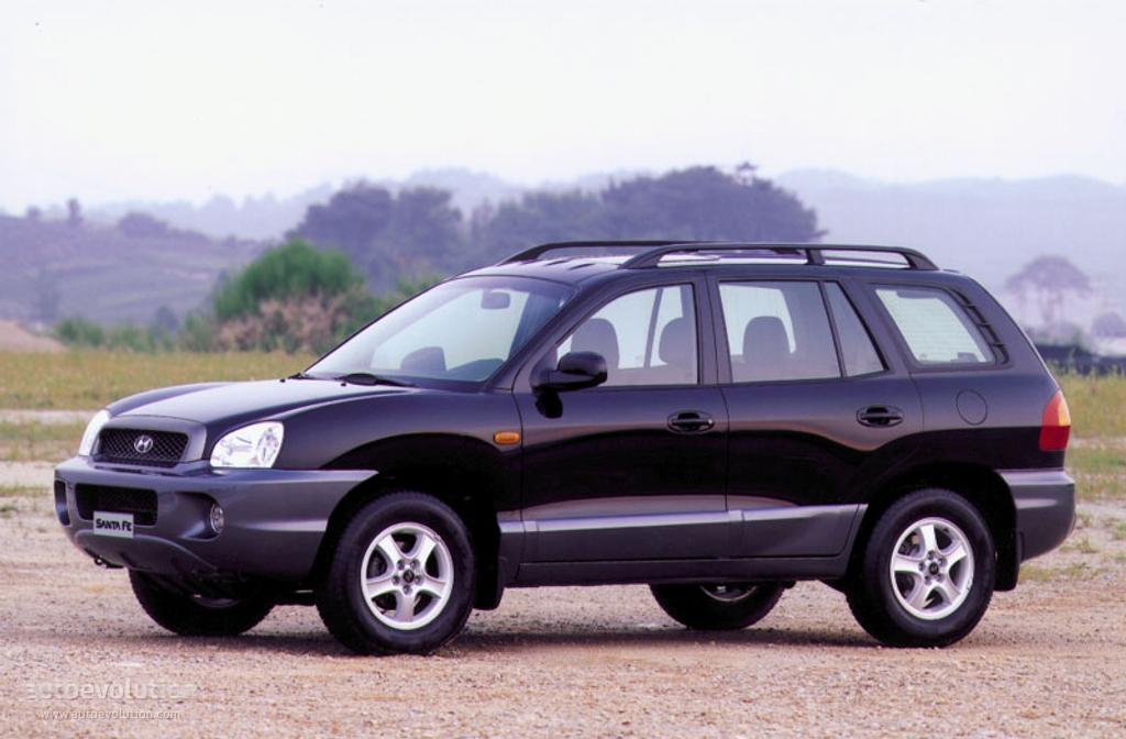 Hyundai Santa Fe 2000 2001 2002 2003 2004