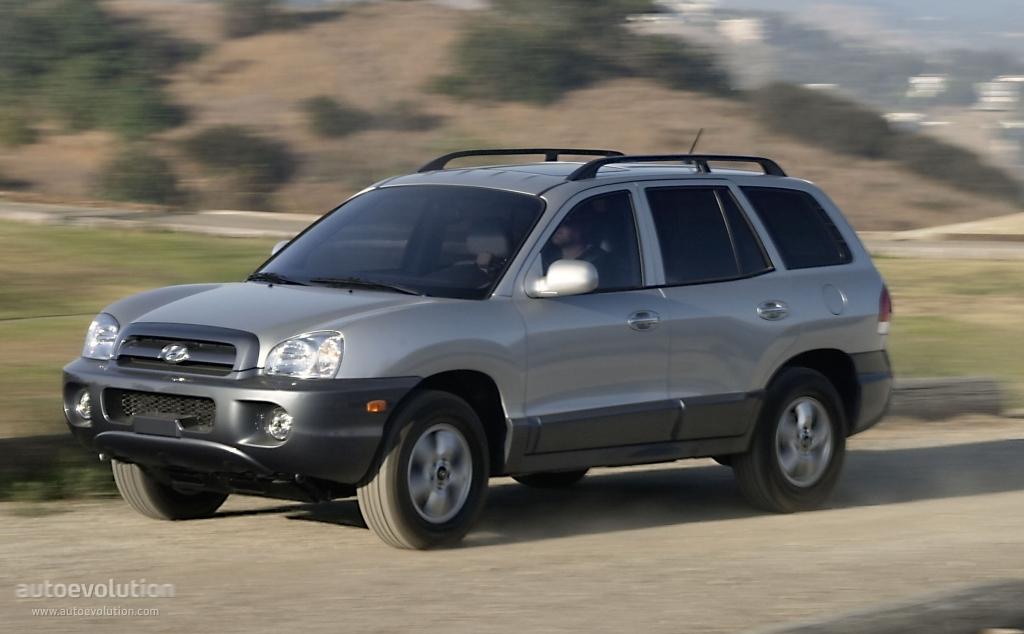 Hyundai Santa Fe 2004 2005 2006 Autoevolution