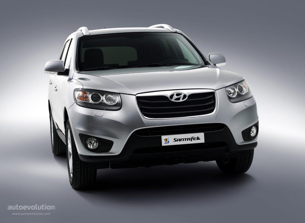 Hyundai Santa Fe Specs 2009 2010 2011 2012