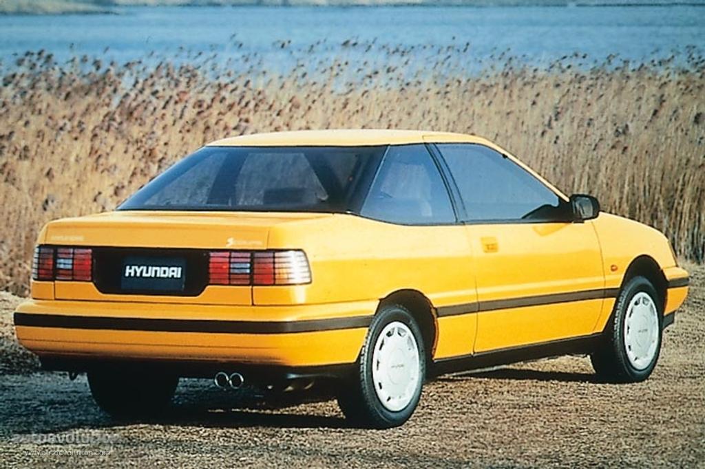Hyundai Scoupe 1990 1991 1992 Autoevolution