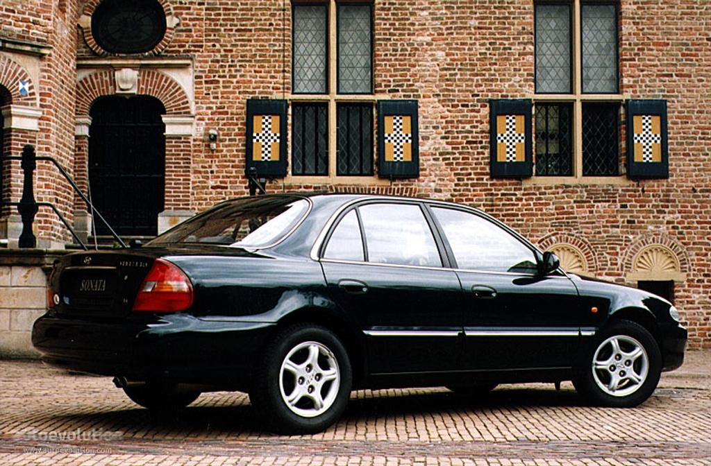 Hyundai Sonata Specs 1996 1997 1998 Autoevolution