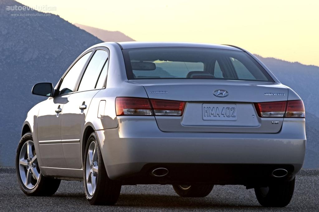 HYUNDAI Sonata - 2004, 2005, 2006, 2007, 2008 - autoevolution