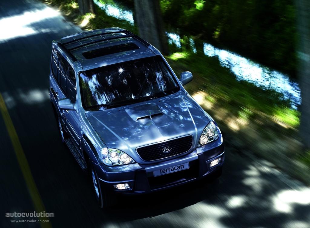 Hyundai Terracan Specs Amp Photos 2004 2005 2006 2007