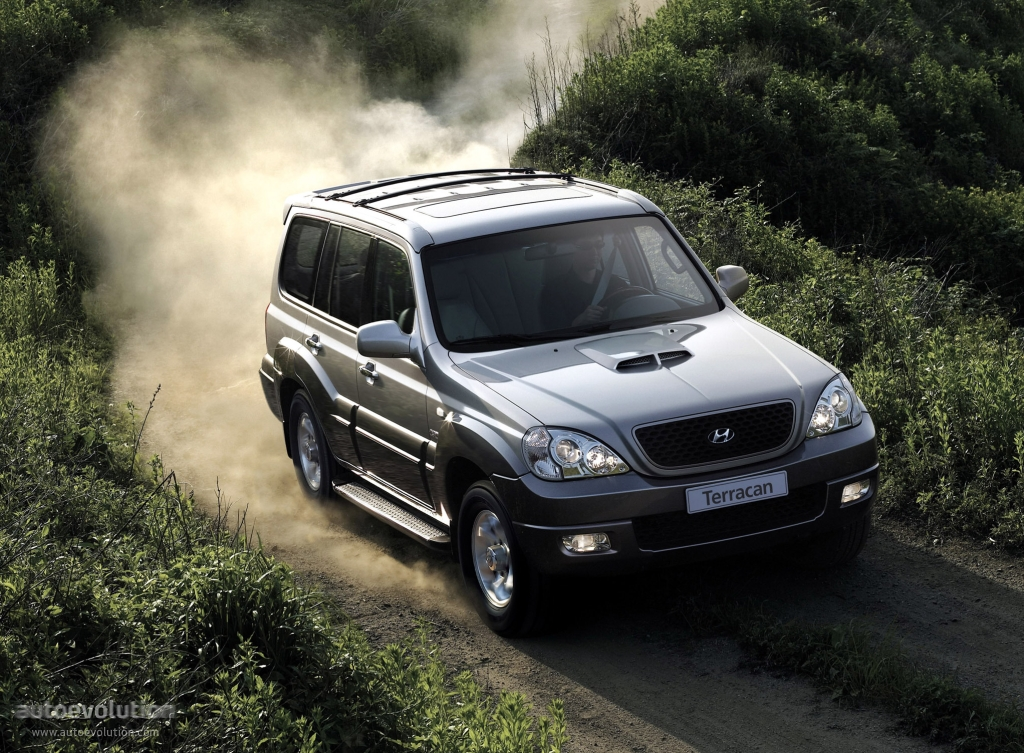 Hyundai terracan 2006