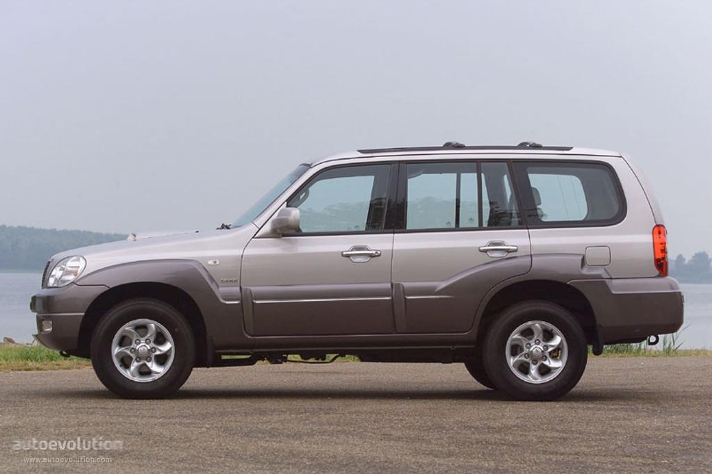 Hyundai Terracan 2004 2005 2006 2007 2008 2009