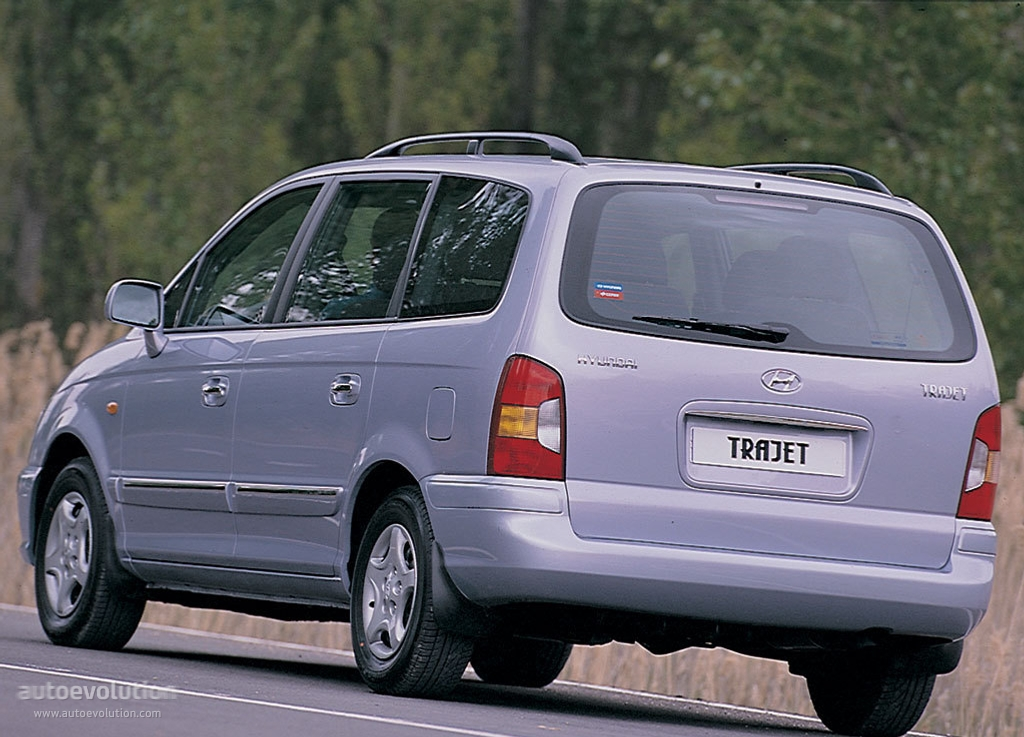 Hyundai Trajet Specs Amp Photos 2000 2001 2002 2003