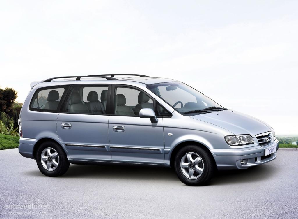 HYUNDAI Trajet specs - 2004, 2005, 2006, 2007, 2008 - autoevolution