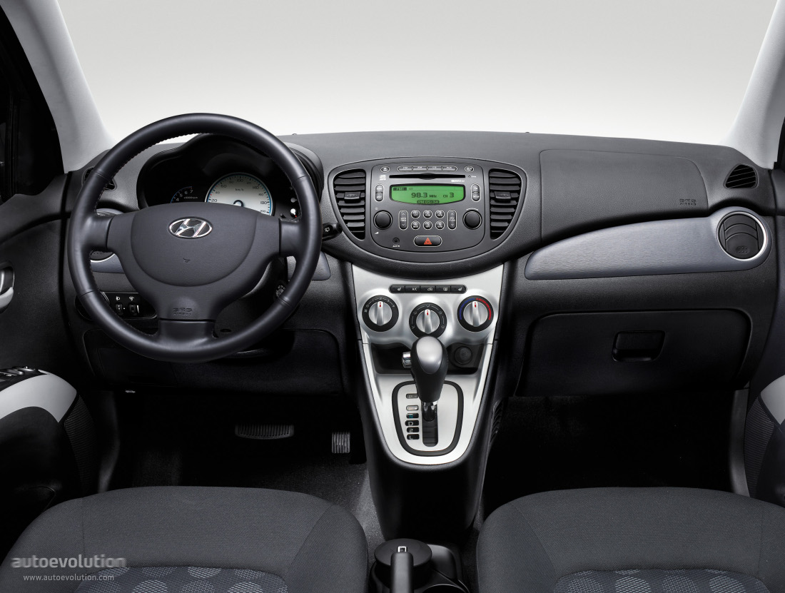 Hyundai i10 specs 2008 2009 2010 2011 2012 2013 for Interieur algerien