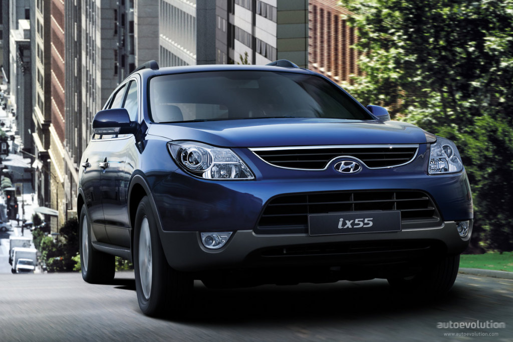 2016 Hyundai Santa Fe >> HYUNDAI ix55 / Veracruz specs & photos - 2009, 2010, 2011 ...
