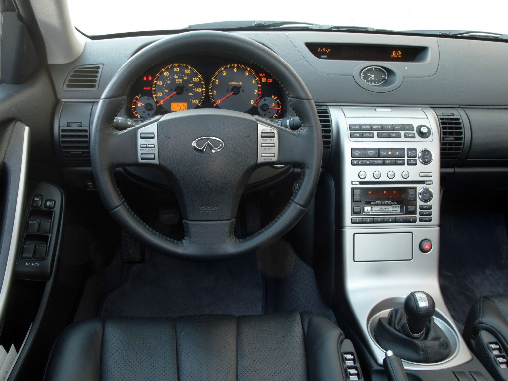 Infiniti G35 Coupe Spezifikationen Fotos 2002 2003 2004 2005